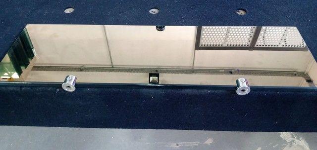 Plateleira de vidro 8mm 500x150 - Foto 3