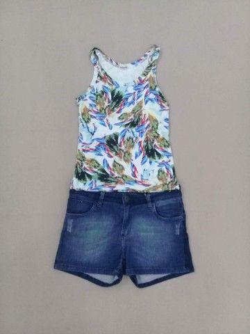 Lote 100 peças de roupa femenino adulto - Foto 2