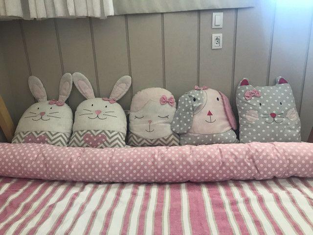 Kit almofadas cama infantil