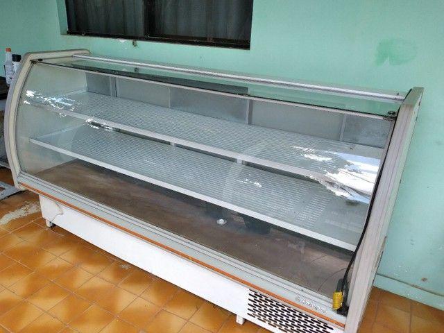 Refrigerador curvo 2.00 mts