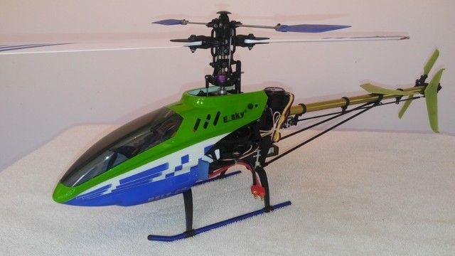 """Helicóptero Belt CP V2 - """"Super Completo"""" - (*Com todo meu Hobby)."""