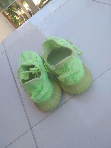 Adidas YEEZY BOOST, usado uma vez só. - Foto 4