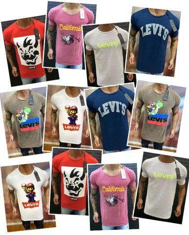 Camisetas Masculinas Nacionais Atacado - Foto 5