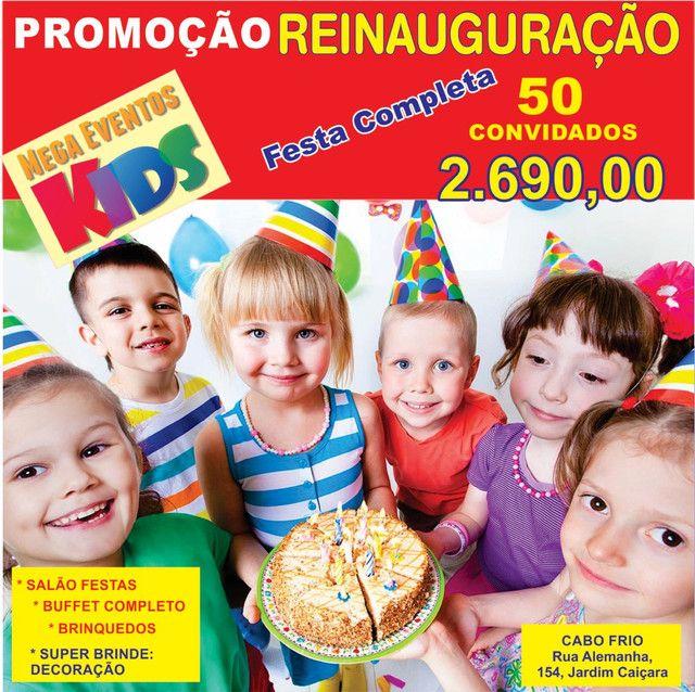 PROMOÇÃO SALÃO FESTAS + BUFFET