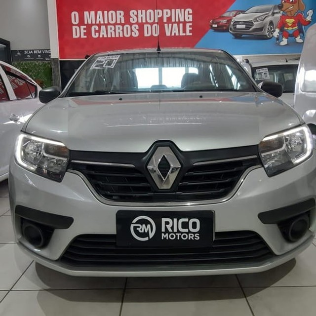 Renault Logan Life 1.0 2020 Flex - Foto 2