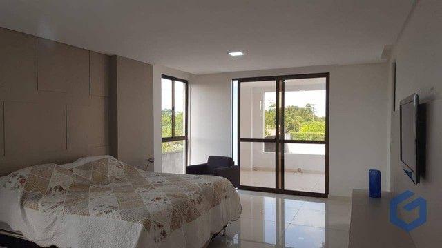 Casa com 5 dormitórios à venda, 508 m² por R$ 2.500.000,00 - Portal do Sol - João Pessoa/P - Foto 18