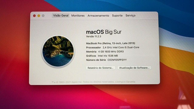 MacBook Pro - 2013 - Retina - Foto 6