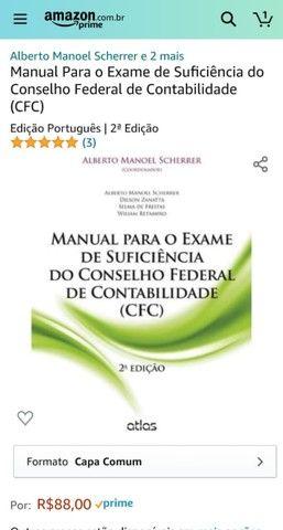 Manual para o Exame de Suficiência do Conselho Federal de Contabilidade (cfc) - Foto 2