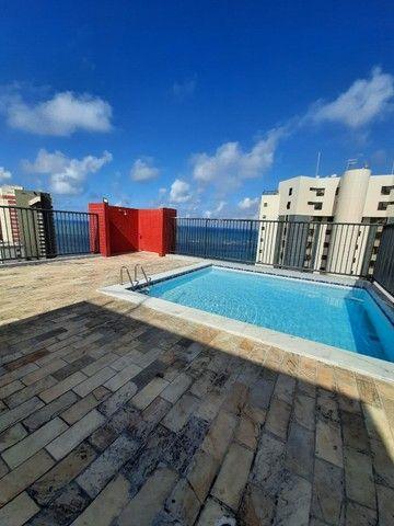 Flat na praia para temporada, quarto e sala, em Jaboatão, região Metropolitana de Recife - Foto 14