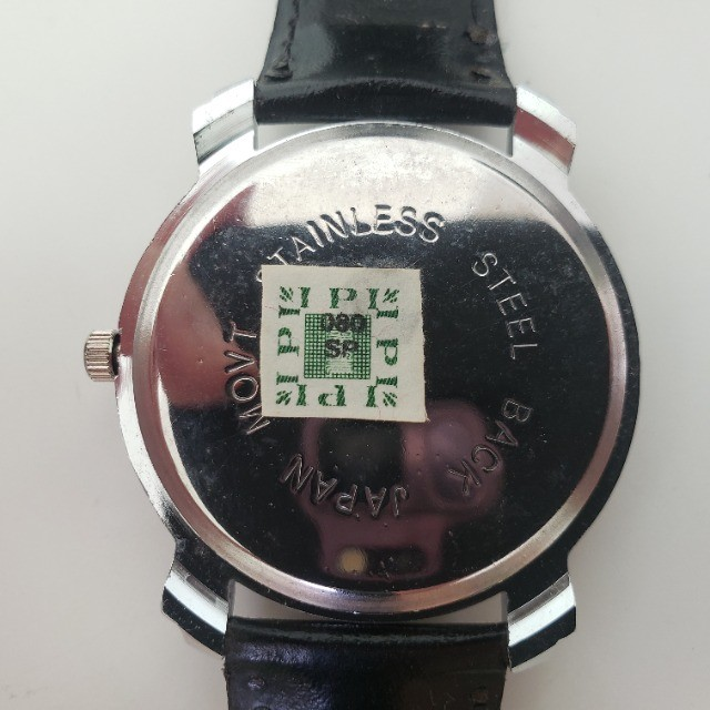 Relógio Analógico Quartz Prata Pulseira Preta - Foto 3