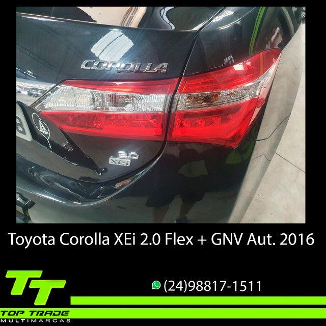 Toyota Corolla XEi 2.0 Flex + GNV Automático 2016 - Foto 5