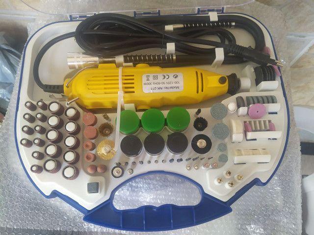 Kit Mini Retificadora 210 peças