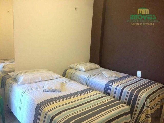 Apartamento com 5 dormitórios para alugar, 126 m² por R$ 4.000,00/mês - Porto das Dunas -  - Foto 3