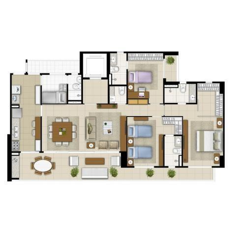 Imperator Residence, 138m2 e 145m2, 3 Suítes, DCE, 3 Vagas. Preços e Condições Especiais - Foto 19