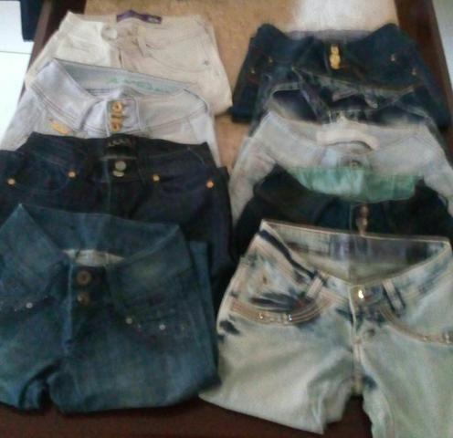 Ta Barato Demais Lote De Calças Jeans 36
