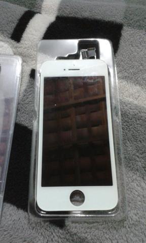 Tela Touch Display + Botão + Bateria Carcaça Iphone 5 5s