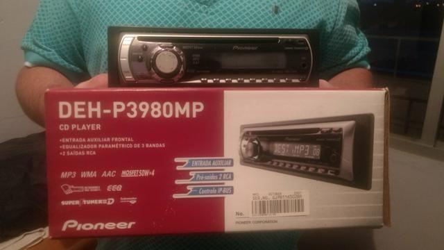 CD Player para carro DE-P3980P