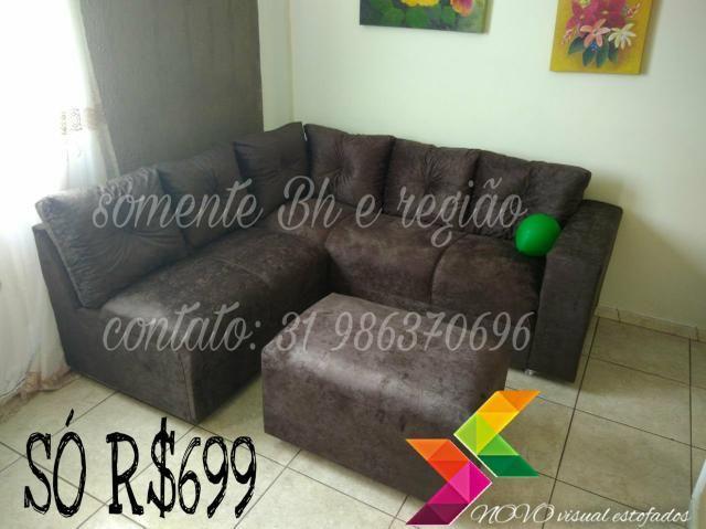 Sofa de canto preço promocional
