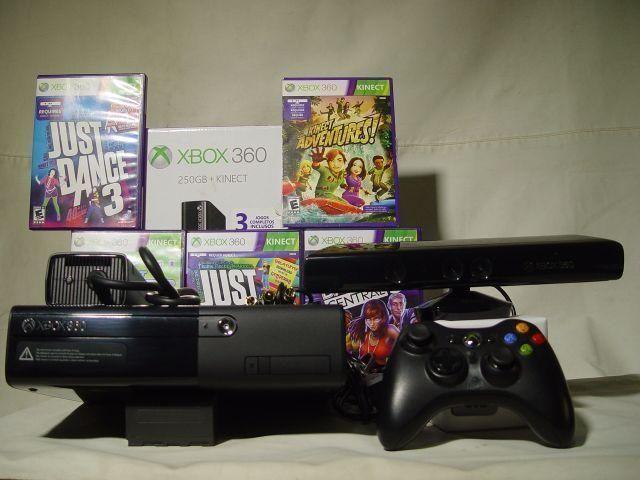 Xbox 360 Com Kinect , 2500 Jogos HD 500 gigas/ garantia /aceitamos cartão/cubro oferta