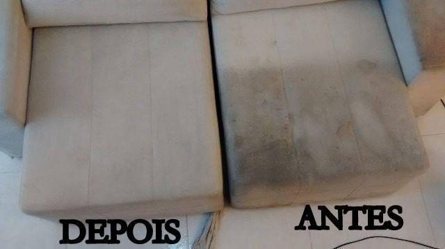 Lavagem de Estofado a Seco - Higenização - Impermeabilização