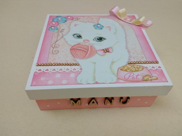 1 caixa mdf infantil