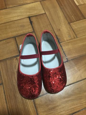 Sapatilha Dorothy - babo uabu - tamanho 26 - usada 4 vezes - R$ 65