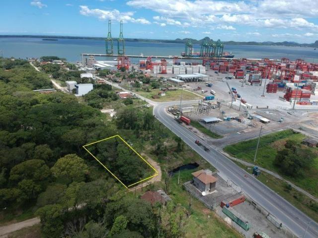 Terreno à venda, 307 m² por r$ 120.000,00 - santa terezinha - itapoá/sc