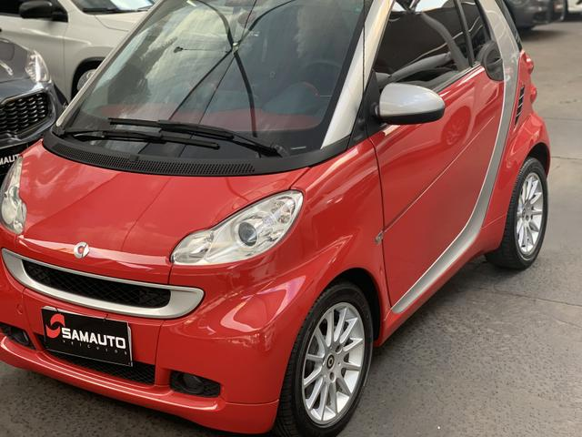 Smart Fortwo 2009 vermelho
