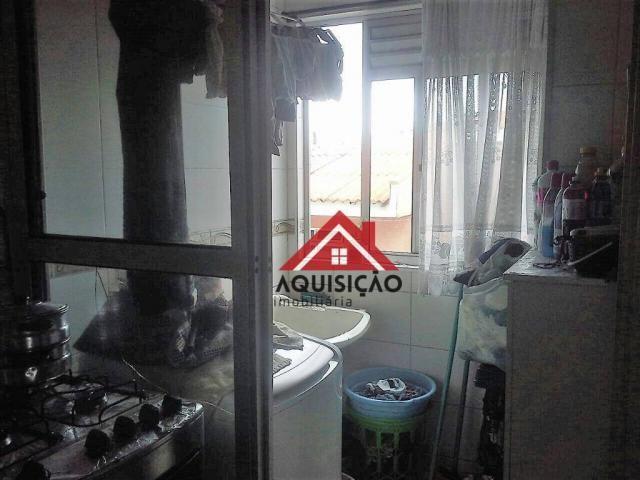 Apartamento com 3 dormitórios à venda, 54 m² por r$ 210.000,00 - capão raso - curitiba/pr - Foto 9