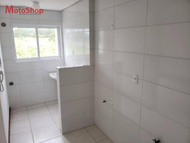 Apartamento com 2 dormitórios para alugar, 52 m² por R$ 900/mês - Coloninha - Araranguá/SC - Foto 2