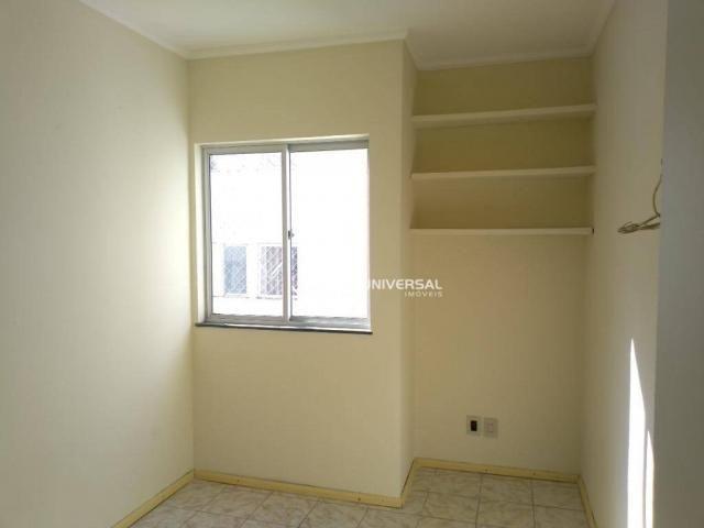 Apartamento com 2 dormitórios para alugar, 55 m² por r$ 700/mês - bandeirantes - juiz de f - Foto 5