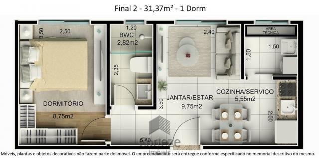 Cobertura duplex 3 quartos no Água Verde - Foto 10