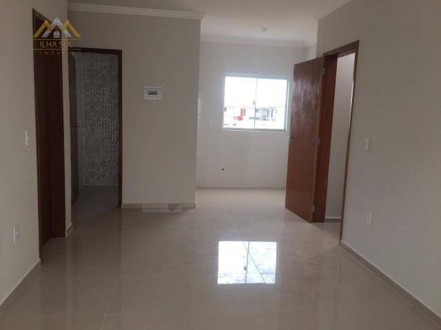 Apartamento com 2 dormitórios à venda por r$ 235.000 - campeche - florianópolis/sc - Foto 9