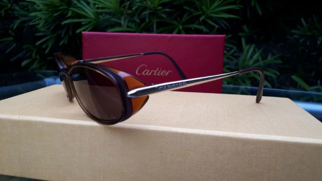 c278c3dc7ec Óculos de Sol Feminino Cartier Original