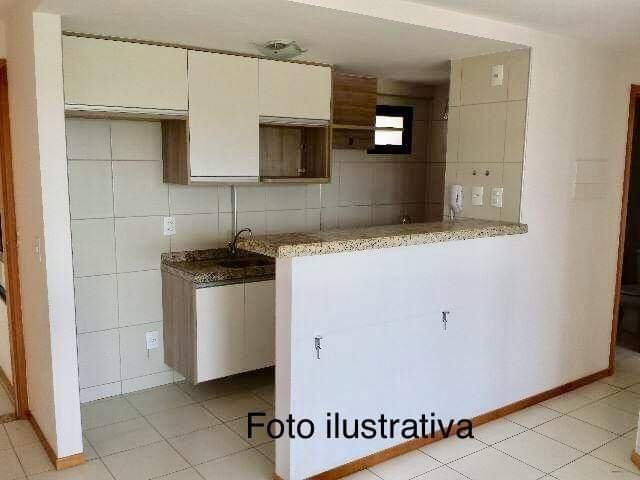 Apartamento 2/4 - Candelária - Residencial Cozumel - Foto 3