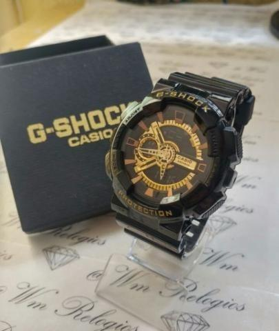 745df62ddb2 Relógios Casio G-shock Digital e Analógico a Prova d água 5mts Vários  Modelos