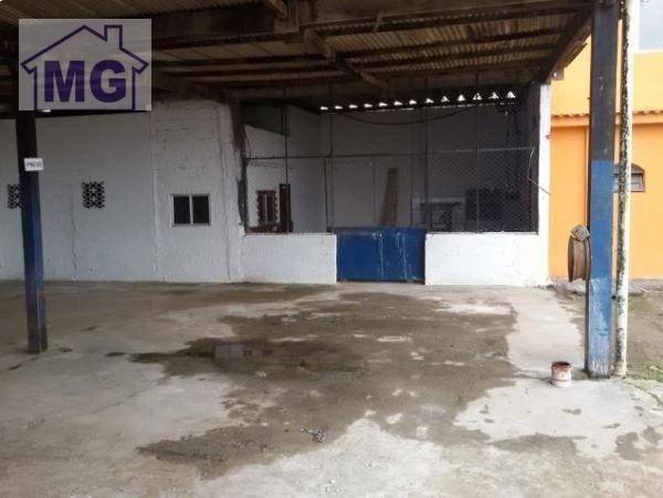 Galpão para alugar, 366 m² por r$ 12.000/mês - botafogo - macaé/rj