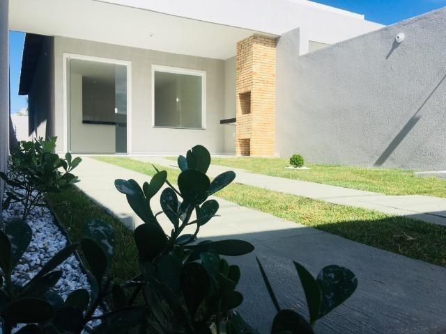 Linda casa com documentação grátis 2 quartos e 2 suites,entrada em 12x , * - Foto 2