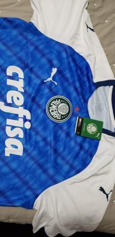 d2628ae77f4c9 Camisa Oficial Palmeiras Azul Puma Nova - Esportes e ginástica ...