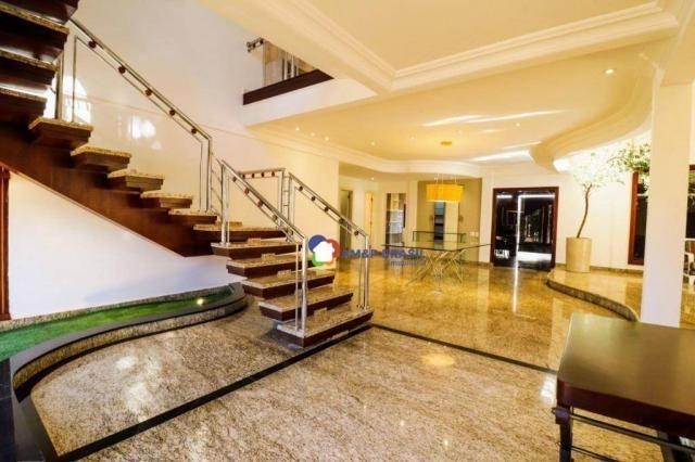 Sobrado com 4 dormitórios à venda, 638 m² por R$ 3.199.000,00 - Residencial Granville - Go - Foto 9
