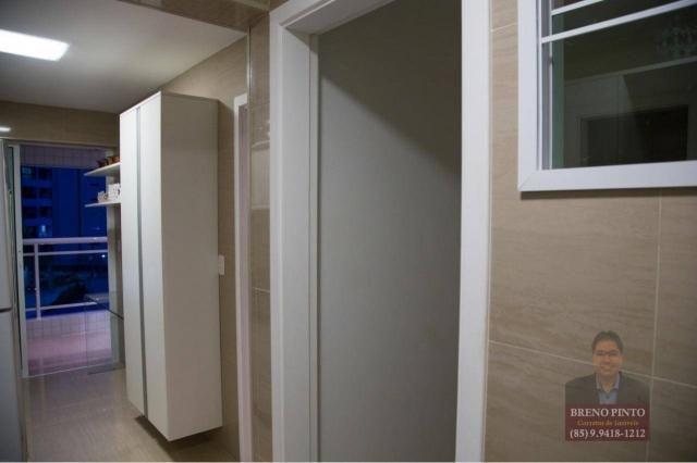Apartamento com 3 dormitórios à venda, 110 m² por R$ 719.900,00 - Aldeota - Fortaleza/CE - Foto 18