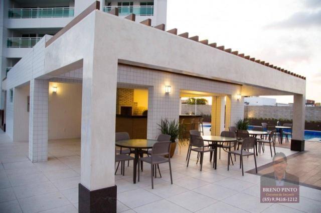 Apartamento com 3 dormitórios à venda, 110 m² por R$ 719.900,00 - Aldeota - Fortaleza/CE - Foto 13
