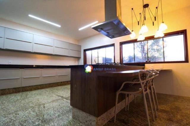 Sobrado com 4 dormitórios à venda, 638 m² por R$ 3.199.000,00 - Residencial Granville - Go - Foto 15