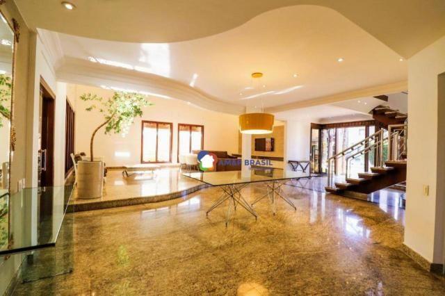 Sobrado com 4 dormitórios à venda, 638 m² por R$ 3.199.000,00 - Residencial Granville - Go - Foto 12