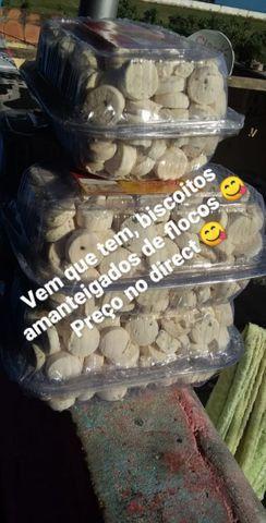 Biscoitos de flocos