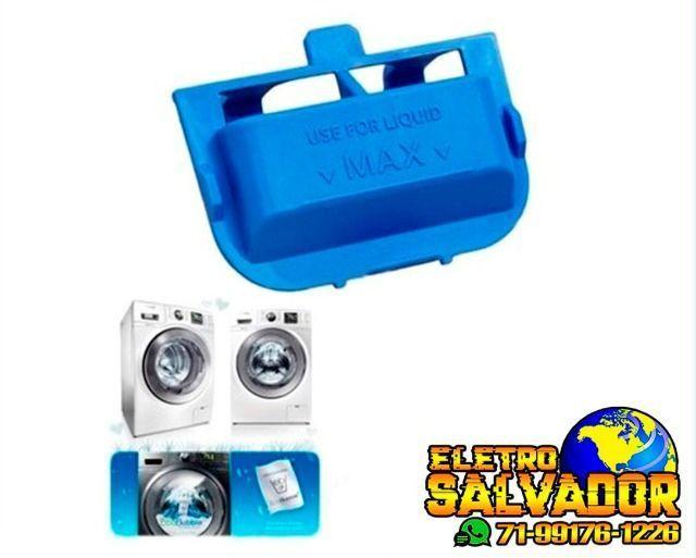 Compartimento de Sabão Líquido Dispenser Lava e Seca Samsung Wd90j6410 e Ww10j6410