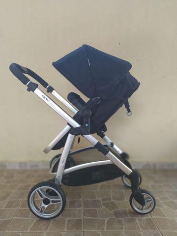 Carrinho com bebê Infanti conforto Travel System
