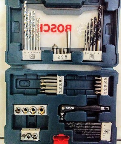 """Furadeira de impacto 1/2"""" 500 watts velocidade reversível 110V Kit 41 peças - Foto 4"""
