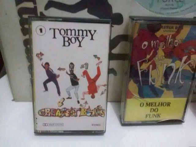 Fita Casset Tommy Boy, original - Foto 2