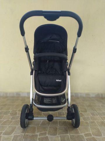 Carrinho com bebê Infanti conforto Travel System - Foto 6